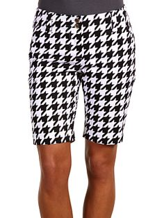 Loudmouth Golf Ladies - Houndstooth