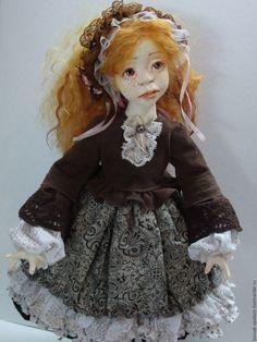 Купить Джинджер - рыжий, авторская кукла, кукла ручной работы, подарок на любой случай