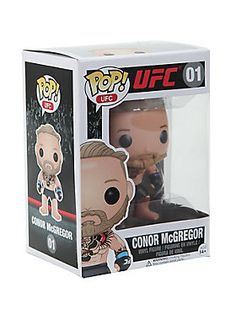"Conor McGregor is given a fun, and funky, stylized look as an adorable collectible vinyl figure!<br><br><ul><li style=""LIST-STYLE-POSITION: outside !important; LIST-STYLE-TYPE: disc !important"">Pop! UFC 01</li><li style=""LIST-STYLE-POSITION: outside !important; LIST-STYLE-TYPE: disc !important"">3 3/4"" tall</li><li style=""LIST-STYLE-POSITION: outside !important; LIST-STYLE-TYPE: disc !important"">Vinyl</li><li style=""LIST-STYLE-POSITION: outside !important; LIST-STYLE-TYPE: disc…"