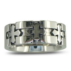 Men's Titanium Cross Band SuperJeweler, http://www.amazon.com/dp/B005ZG1VUC/ref=cm_sw_r_pi_dp_vJVGqb1HD5S2J