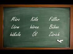 Are you Having Trouble Saying the Umlaut in German? The Explanation that Will Help you Out with those Funny German Sounds! German Grammar, How To Pronounce, Learn German, Languages, Teaching, Sayings, Grammar, Tips And Tricks, Idioms