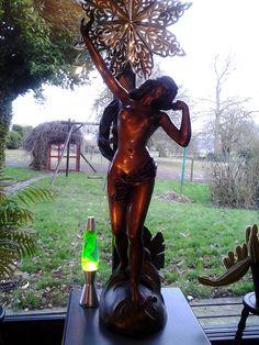 Auguste Moreau - Sun girl  (Aurore Awakening) - bronze sculpture