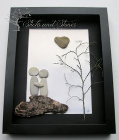 Limited Edition Unique Couple's Gift by SticksnStone on Etsy, $85.00