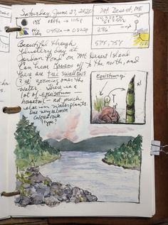 Nature Journaling for a Wild Life – Reader Page — Exploring Overland Learn A New Skill, Desert Island, Nature Journal, Book Reader, Wild Life, Small Groups, Exploring, Journaling, Vintage World Maps