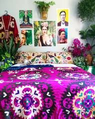 Vintage Purple 'CAMILLE' Suzani