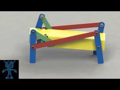Walking Robot Mechanism - YouTube
