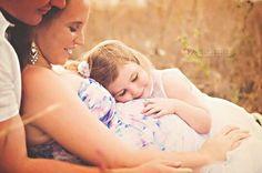 Maternity pose with older sibling Like & Repin. Noelito Flow. Noel songs. follow my links http://www.instagram.com/noelitoflow