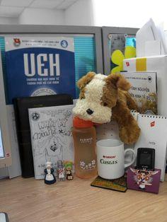 My desk Oatmeal, Notes, Desk, Breakfast, Food, The Oatmeal, Morning Coffee, Report Cards, Desktop