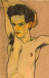 Image result for egon schiele auto retrato