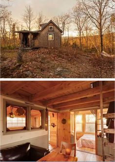 25 Brilliant Tiny Homes That Will Inspire You To Live Small. (Compact Cabin with loft)