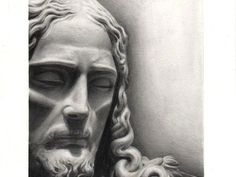 Powerful Jesus Drawing