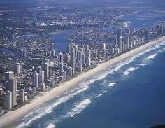 Surfers Paradise. One of my favrt days in oz swimming in this sea.
