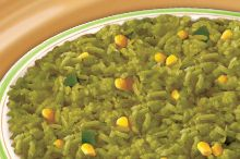 Arroz Verde a la Mexicana (Mexican Green Rice)