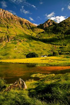 Loch Achtriochton Glencoe Scotland