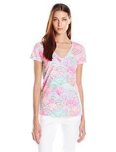 Lilly Pulitzer Women's Michele V-Neck Top, Multi LI Oh Shello Small, Medium Lilly Pulitzer http://www.amazon.com/gp/product/B0141BY996/ref=as_li_qf_sp_asin_il_tl?ie=UTF8&camp=1789&creative=9325&creativeASIN=B0141BY996&linkCode=as2&tag=divinetreas03-20&linkId=EDAH3JCRFOD45XTF