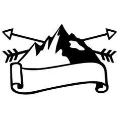mountains silhouette clip art clipart panda free clipart images rh pinterest com Simple Mountain Clip Art Mountain Clip Art Black and White