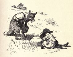 Mythology and Folklore Readings: Brer Rabbit: How Mr. Rabbit Was Too Sharp for Mr. Fox. This is the famous story of Brer Rabbit fooling Mr. Fox so that he throws Brer Rabbit into the brier-patch... just like Brer Rabbit wants him to do!