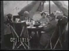 Camping trip with Thomas Edison, Henry Ford and John Burroughs