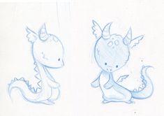 "Baby dragon sketches by <a href=""http://danieru-chan.deviantart.com"" rel=""nofollow"" target=""_blank"">danieru-chan.devi...</a> on @deviantART"