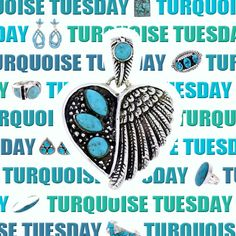 Happy Turquoise Tuesday!! Don't forget Valentine's Day is just around the corner, get your last minute gifts at SilverTribe! https://www.silvertribe.com/
