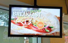 Subway To Extend Digital Signage Worldwide