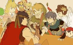 Marth, honey, are you so sure about this? Perhaps you have the advantage of distracting Ike? Or an alternative way out?