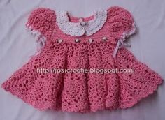 Vestido de bebêTraduzido por Ana Land blog CrochettingandallLink : por Josi do Blog Josi CrocheLink: para PáscoaTamanho final: vestido e chapéu vestem bebês de 12 a 18 meses. A bolsoinga tem 8 cm.M…