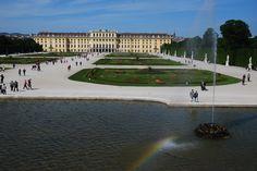 wander around the beautiful gardens on Schoenbrunn Palace Beautiful Gardens, Wander, Palace, Louvre, Building, Travel, Austria, Viajes, Buildings