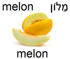 melon #hebrew