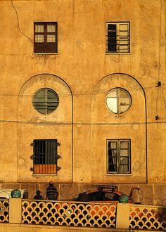 Art deco flats, Asmara, Eritrea