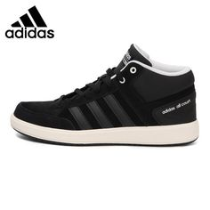 Original New Arrival 2017 Adidas CF ALL COURT MID Men's  Tennis Shoes Sneakers