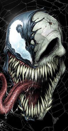 Venom art – Young Lady Fashion Venom art – The post Venom art – Young Lady Fashion appeared first on Marvel Universe. Venom Comics, Marvel Venom, Marvel Villains, Marvel Art, Marvel Heroes, Marvel Comics, Deadpool Wallpaper, Marvel Wallpaper, Scary Wallpaper