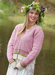 Ravelry: Frida's Mid Summer Jacket pattern by Karihdesign Kari Hestnes