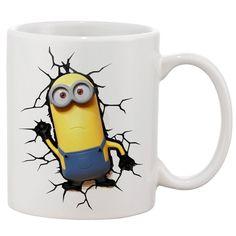 Kevin Minions On your mug White 11 oz. Printing Ceramic Coffee Mug