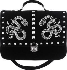 Restyle - Moon Snake Satchel Bag