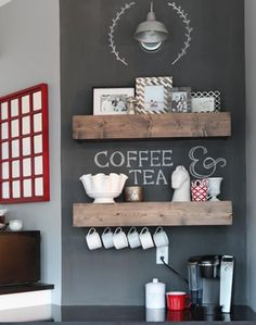 Easy wooden chunky shelf ideas that you can DIY