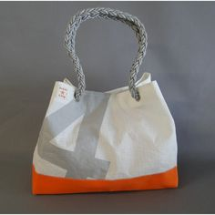 sac ville en toile de voile de bateau recyclée Reuse, Upcycle, Sailing Outfit, Kite, Nautical, Creations, Gift Ideas, Tote Bag, Navy