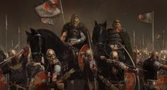 Dermot Power Beowulf concept art