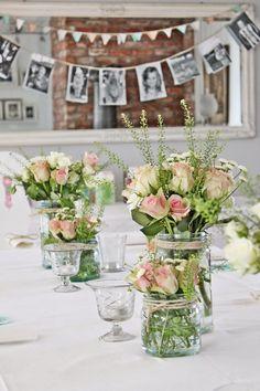 Snart klar for den store festen! Wedding Table, Diy Wedding, Rustic Wedding, Wedding Flowers, Wedding Ideas, Deco Champetre, Deco Floral, Wedding Pinterest, Wedding Anniversary Gifts
