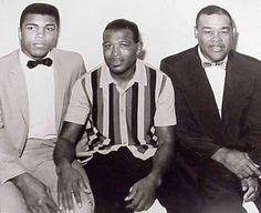 Muhammad Ali, Sugar Ray Robinson, Joe Louis