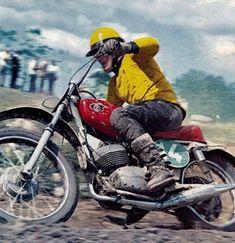 Vintage Motocross, Vintage Bikes, Scrambler, Grand Prix, British, Hero, Motorcycle, Cool Stuff, Photos