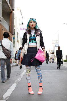 ストリートスナップ | mayu | 歌手, ブロガー | 原宿 (東京)