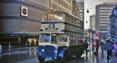 Birmingham Shopping, Birmingham City Centre, Birmingham England, London England, Old Pictures, Old Photos, Model Railroader, Double Decker Bus, West Midlands