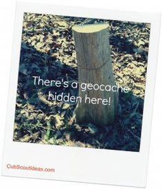Quick and dirty guide telling total newbies How to #Geocache! Great activity for #CubScouts