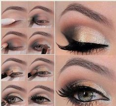 new years eye makeup