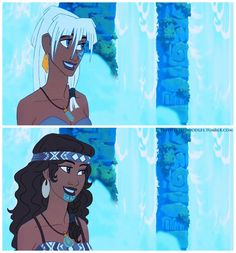A Whole New World Part IV Part I Part II Part III (( I know it's been ages since I've done any edits, but after the giant blow up of requests in my inbox for more racebent disney (seriously, wow! Disney Pixar, Disney Magic, Disney Au, Disney Races, Disney Girls, Disney Animation, Disney And Dreamworks, Animation Film, Disney Love