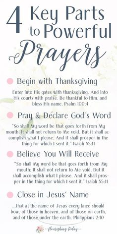 How to have POWER in your PRAYER using Scriptures