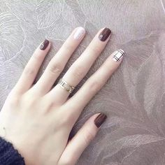 60 Nail Designs That Are So Perfect For The Summer Page 48 of 55 LoveIn Home Nageldesign Prom Nails, Fun Nails, Nagel Bling, Korean Nails, Plaid Nails, Nailart, Nail Swag, Super Nails, Matte Nails