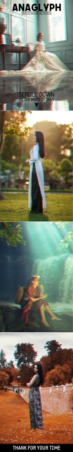 3D Anaglyph Actions is a set of #Photoshop actions that gives a #stereoscopic red and cyan #3D effect to your images. via @creativetacos