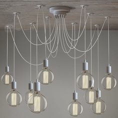 94.80$  Buy here - http://alivlt.worldwells.pw/go.php?t=32488878762 - Modern chandelier Lighting 10 arms Adjustable Pendant Lamp with Remove Control E27 Kitchen Light Fixture Lustre luminaria 94.80$